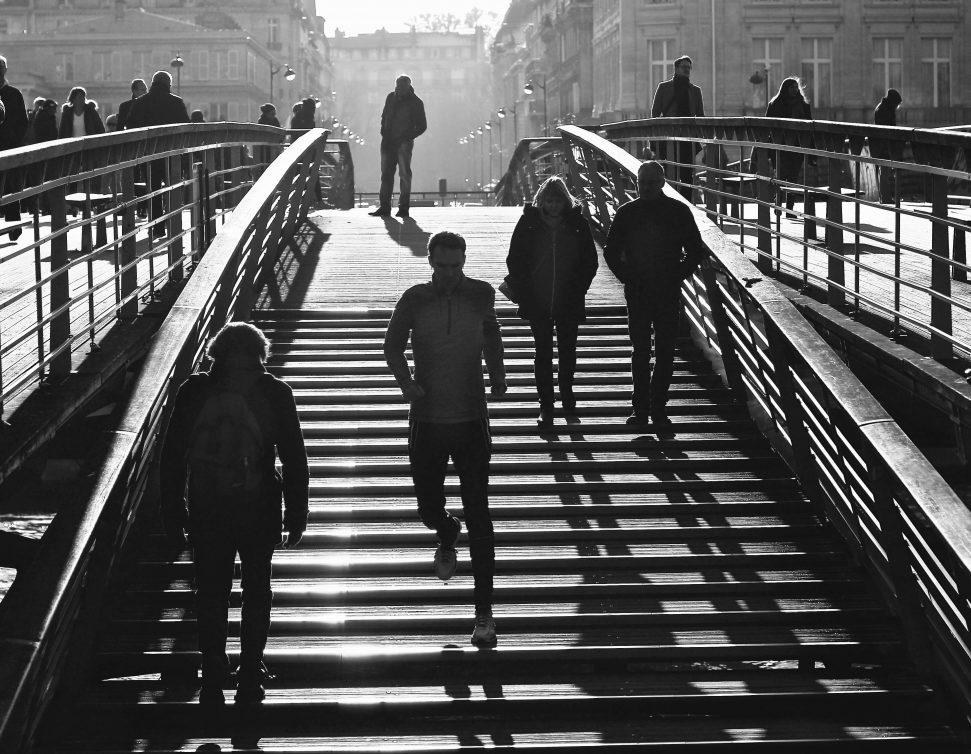 Passerelle Léopold Sedar Senghor - Paris - Automne 2016